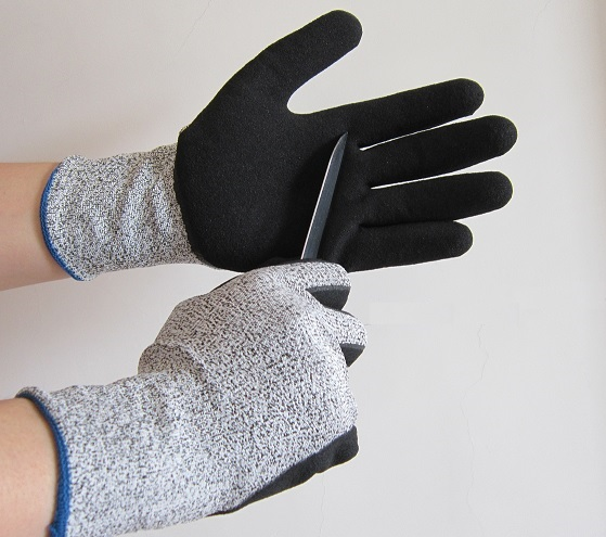 Cut Resistant Nitrile Coating glove