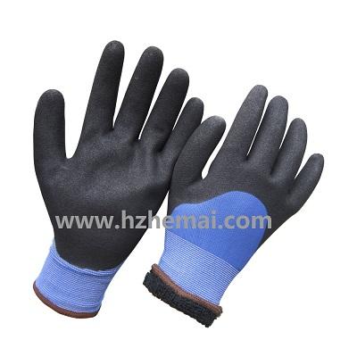 Haff dipped winter work glove